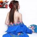 Người đẹp bán Nude trong cosplay Phan Kim Liên 1