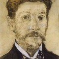 Bức chân dung tự họa của Mikhail Vrubel, 1882