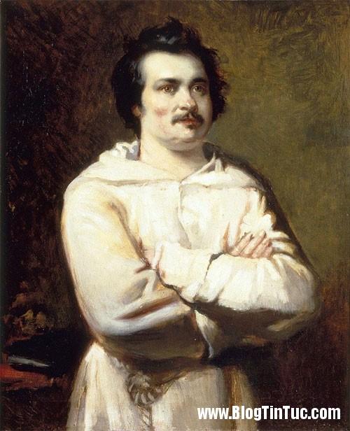 Honore de Balzac Điểm danh những thói quen rởm đời của các thiên tài trong lịch sử