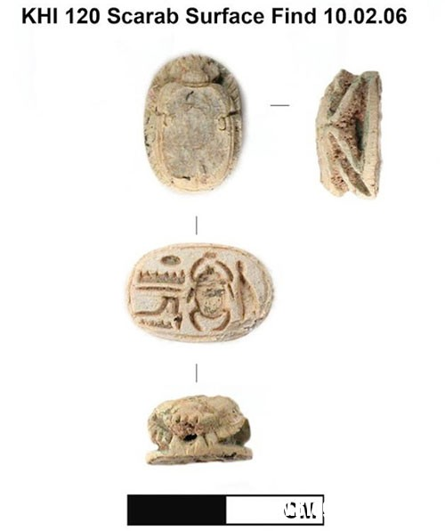 bua ho menh Phát hiện bùa hộ mệnh thần bí của Pharaoh Sheshonq I