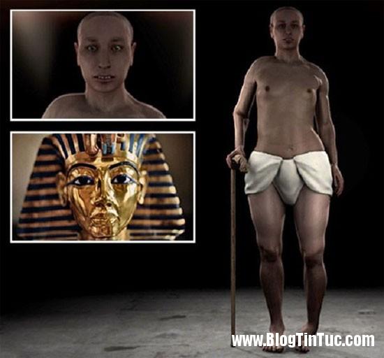 tutankhamun1 Bí ẩn chân dung khác lạ của Pharaoh Tutankhamun