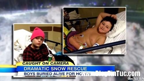 1417365522 tuyet1 Hai cậu bé sống sót kỳ diệu sau 8 giờ bị chôn vùi trong tuyết