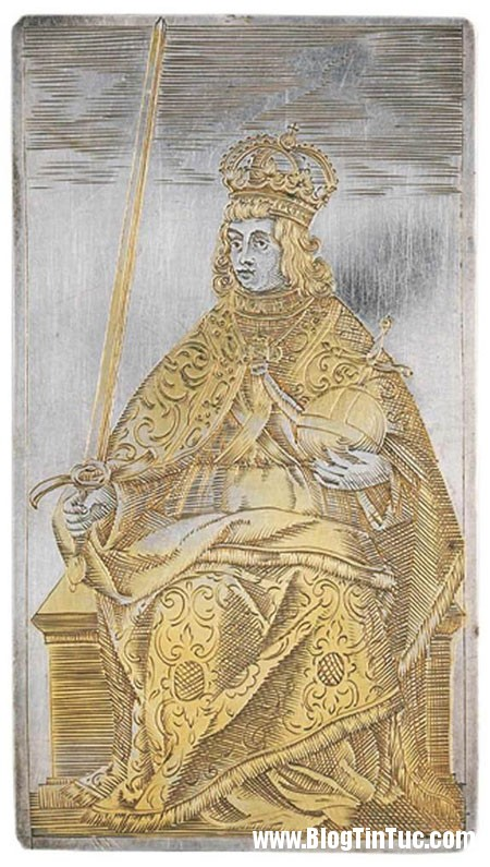InfantaCarlotaJoaquina Bí mật âm mưu lịch sử đằng sau bộ bài mạ vàng 400 năm tuổi