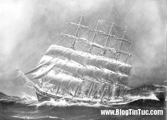 Kobenhavnship Bí ẩn vụ tàu buồm lớn nhất thế giới mất tích một cách kỳ lạ