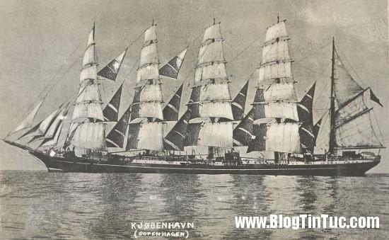 Kobenhavnship2 Bí ẩn vụ tàu buồm lớn nhất thế giới mất tích một cách kỳ lạ