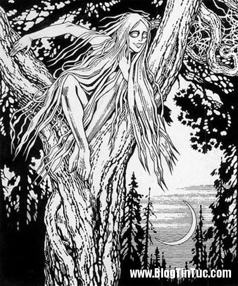 Ma nu rusalki Truyền thuyết về các linh hồn ma quỷ đáng sợ biết đoạt hồn