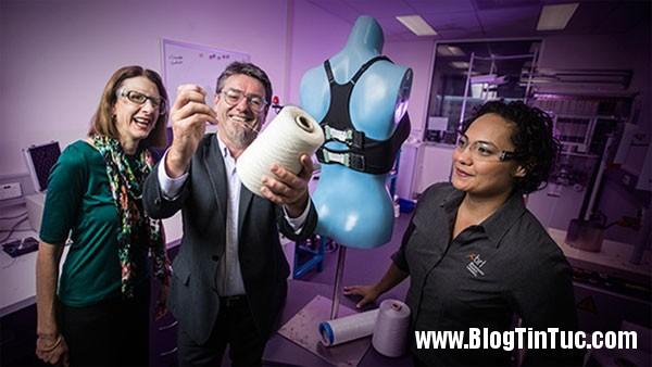 bionic bra Áo lót thông minh có thể tự siết chặt, nới lỏng theo chuyển động của ngực