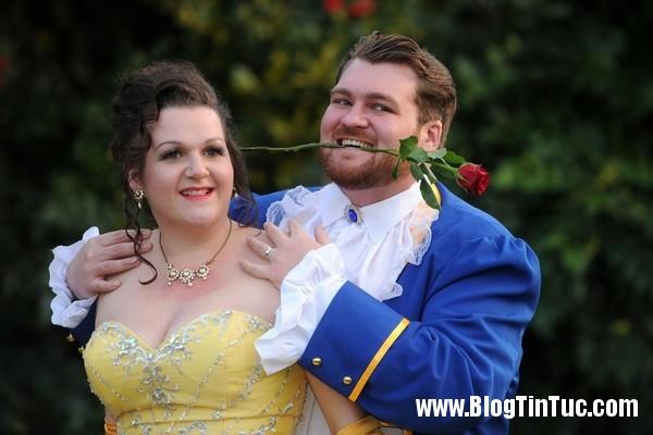 sssss1 Đám cưới độc đáo của cặp đôi người đẹp và quái thú đời thực