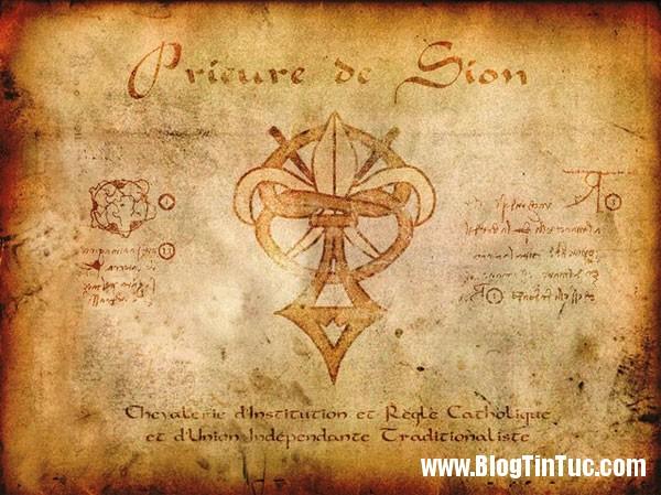 bieu tuong tu vien sion Thiên tài Leonardo da Vinci và những bí mật không phải ai cũng biết