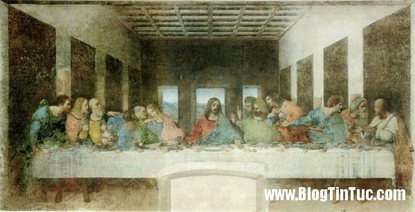 buc tranh bua tiec ly Thiên tài Leonardo da Vinci và những bí mật không phải ai cũng biết