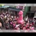 Cận cảnh lễ hội Dương Vật ở Nhật Bản !!!