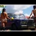 Hot girl rửa xe !!!